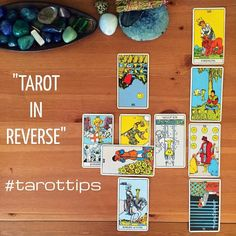 Tarot In Reverse #Masterclass #tarottip  READ MULTIPLE REVERSED CARDS TOGETHER  Seeing multiple reversed tarot cards can suggest that those cards are connected to one another in a way that is unique from what is going on in the rest of the spread. Of course all cards that appear in a spread are related to one another but the reversed cards can be read separately from the upright cards to shed some information on issues that are indirectly related to the question at hand.  Let's say this…