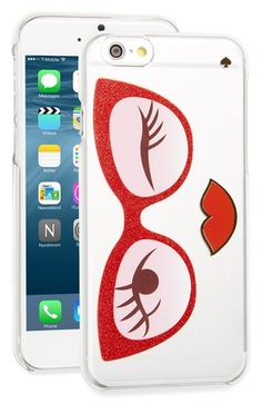 kate spade new york 'rose colored glasses' iPhone 6 & 6s case available at #Nordstrom