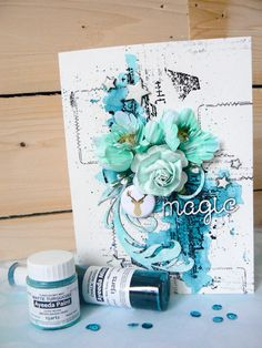 Bonjour, voici mes dernières créations pour 2Crafty  Chipboard.     Hi everyone, here is my last projects with 2Crafty  Design team.       ...