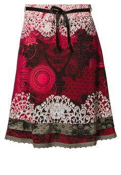 Desigual A line skirt red