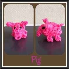 Pig - YouTube tutorial by DIY Mommy