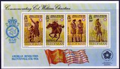 Postage Stamps Isle of Man 1976 Bicentenary of American Revolution Set Fine Mint SG 67 70 Scott 70 73 Take a look Buy it now!