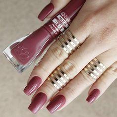 1 2 or Sexy Nails, Trendy Nails, Cute Nails, Acrylic Nail Designs, Nail Art Designs, Acrylic Nails, Seasonal Nails, Nail Polish Colors, Nail Arts
