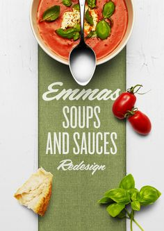 Emmas Soups and Sauces — The Dieline - Branding & Packaging Design