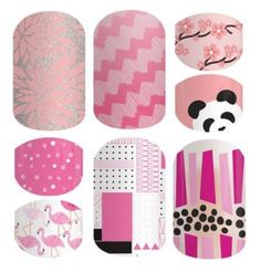 """Jamberry Nails - Colors - Pink"" by kspantongroup on Polyvore featuring beauty"
