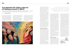 Editorial illustration about the new surprises provided y digital tools in the travel industry. Published in Revista Savia (trading magazine). Magazine Art, Art Director, Editorial, Tools, Digital, Illustration, Travel, Travel Agency, Instruments