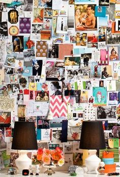 A pinboard on a pinboard ...