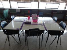 whiteboard desks...a pretty cool idea..