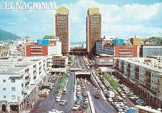 El 06 de diciembre de 1954 son inauguradas las Torres del Centro Simón Bolívar o El Silencio. (ARCHIVO EL NACIONAL)