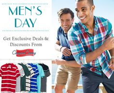 Happy Mens Day!! Get attractive discounts and deals  Visit : http://www.couponcanny.in/