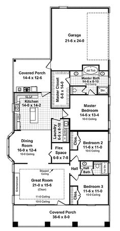tidy craftsman home plan 51042mm 1st floor master suite bungalow cad available