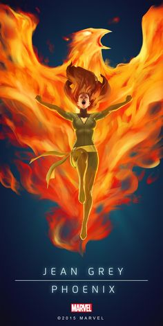 Jean Grey Phoenix Poster-02