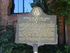 Attack on British Lines, Savannah Visitor Center, Savannah, GA