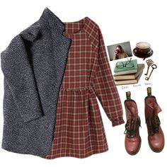 I've been waking up alone by tickling on Polyvore featuring мода, Dr. Martens, women's clothing, women's fashion, women, female, woman, misses and juniors