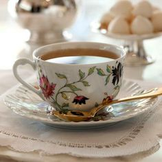 Set de Chá Fleur Royal Limoges