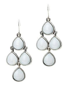 BLACK STONE EARRING - Lucky Brand 2.0 | Lucky brand, Stone and Black