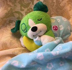 Leap Frog TWINKLE TWINKLE Plush LITTLE SCOUT Lullaby Baby Musical w BLANKET  | eBay