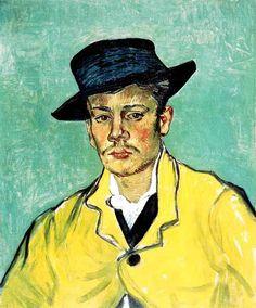 Vincent Van Gogh - Post Impressionism - Arles - Portrait d'Armand Roulin, fils…