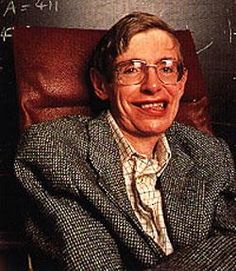 """""""I have noticed even people who claim everything is predestined, and that we can do nothing to change it, look before they cross the road.""""  Stephen Hawking"""