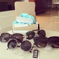 Happiness via mail ❤❤❤❤ #bleudame #sunglasses
