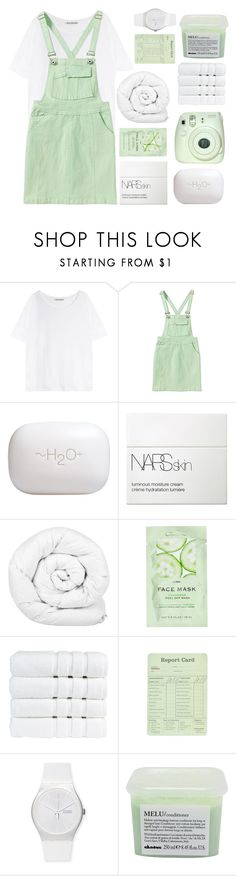 """ONLY YOU GOT ME ON MY BEST BEHAVIOUR"" by trnslucid ❤ liked on Polyvore featuring Acne Studios, H2O+, NARS Cosmetics, Brinkhaus, H&M, Christy, Swatch, Davines and country"