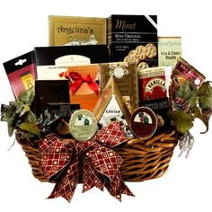 For anyone who demands and appreciates the best in life, this impressive gift has it all from fine gourmet fare, Caviar, Godiva premium chocolates and more Epicurean Feast Grand Gourmet Food Gift Basket with Caviar