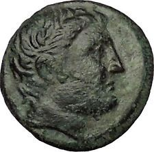 Phalanna in Thessaly 3-2CenBC Ares Nymph Authentic Ancient Greek Coin i53306