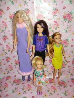 Gorgeous barbie and her sisters dolls Find them in my ebay store 'Ameliajay123' #Ameliajay123 #barbiedoll #skipperdoll #staciedoll #chelseadoll #ebay #barbiestyle