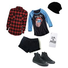 4th of July by maddie-medsker on Polyvore featuring polyvore fashion style Lucky Brand Converse LAUREN MOSHI
