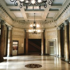 National Museum, Manila, Philippines - I just love the neoclassical interior of this underrated