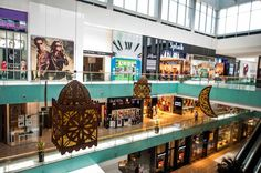 Ramadan Decoration - Dubai Mall by Rasha Zelhof, via Behance