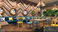 Interior Design For Bathroom Small Restaurant Design, Deco Restaurant, Restaurant Concept, Modern Restaurant, Fast Food Restaurant, Restaurant Interior Design, Coffee Shop Interior Design, Pub Design, Coffee Shop Design