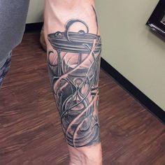 Hourglass Tattoos for Men