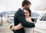 Intimate and Elegant Brentwood Bay Resort Wedding Pictures by Lara Eichhorn