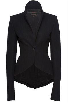 beautiful black blazer