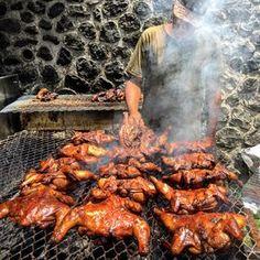 Recette de poulet grillé à la créole. Look And Cook, Picnic Sandwiches, Clean Eating Chicken, Salty Foods, Exotic Food, Caribbean Recipes, Island Food, International Recipes, Chester