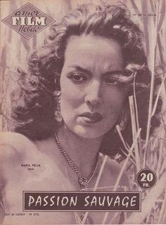 Amor Film Hebdo N° 105 1956 Passion Sauvage Maria Felix Jorge Mistral | eBay