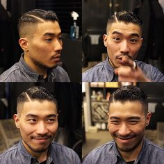 Be sure to tag us in those post haircut pictures! Styled with Prospectors Pomade. Take a look at some cool Visit Our Site for more Cool Content for and Asian Men Hairstyle, Asian Hair, Undercut Hairstyles, Long Beard Styles, Hair And Beard Styles, Hair Styles, Haircut Fails, Haircut Men, Great Haircuts
