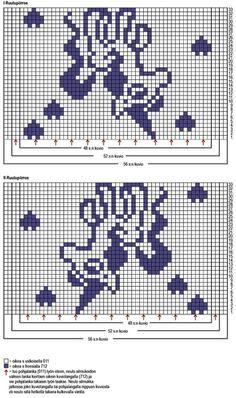"Вязание. Жаккард - ""Зимняя радуга"" Crochet Chart, Stitch Patterns, Cross Stitch, Knitting, Album, Charts, Crocheted Blankets, Wall Photos, Barn"