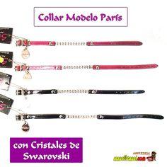 ShiBoo Collar de Cristales de Swarovski Modelo París varias medidas y colores