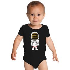 I Need More Space (Astronot) Baby Onesies