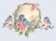 Птицы от CAROLYN SHORES WRIGHT. Часть 1.. Обсуждение на LiveInternet - Российский Сервис Онлайн-Дневников