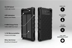 ca61efac882 SOS PowerBank  Life-Saving Portable Solar Battery by SOS PowerBank —  Kickstarter High Tech