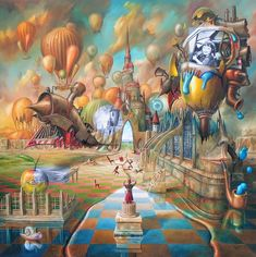 Jaroslaw Jasnikowski surrealismo desde Polonia
