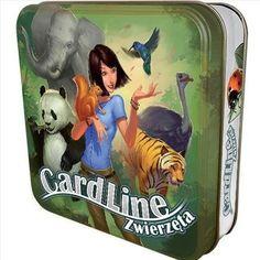 Cardline Zwierzęta - Gra Edukacyjna o Zwierzętach