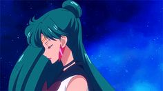 Sailor Pluto in SMC S3 OP - New Moon ni Koishite (In Love With New Moon ) gif