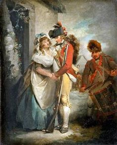 The Soldier's Departure - George Morland
