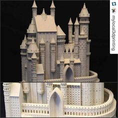 #Repost @mylocal3dprinting  Esta impresión de un castillo esta increible!! Diseñada por Bold Machines.  http://ift.tt/1MoIxeN )  #3dprintshop #3dprinter #3dcastle #3dprinting #3ddesigning #3darchitect #castle #stgomakerspace by stgomakerspace