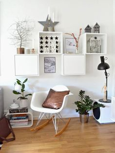 Kobber Shelves, Living Room, Box, Home Decor, Modern, Shelving, Snare Drum, Decoration Home, Room Decor