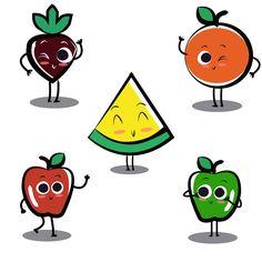 Apple Cheery Banana Lemon Orange Strawberry Pear